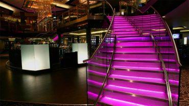 Network Lighting Empire-Casino London Stairs LEDs
