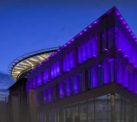 Network lighting EiCC Edinburgh