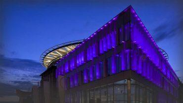 Network lighting EiCC Edinburgh