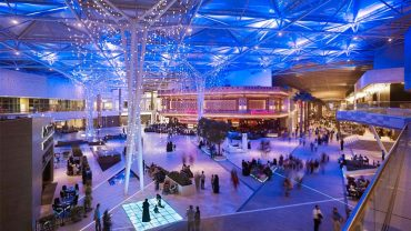 network lighting Kuwait-Grand Avenues Shopping Mall
