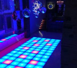 Network Lighting Architectural LED Dance Floor Yorkshire