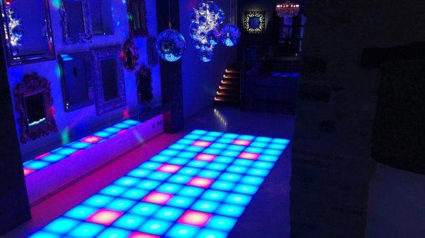 Network Lighting Architectural LED Dance Floor Yorkshire