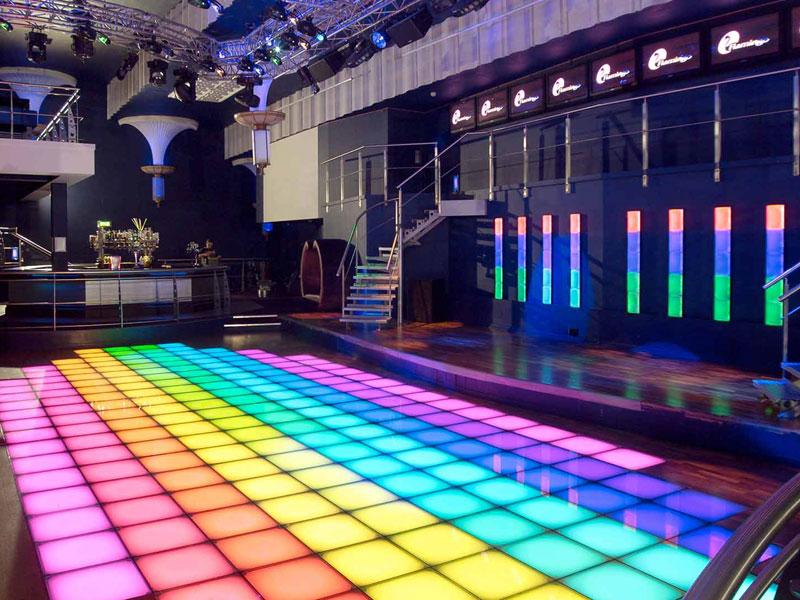 Network-Lighting Flamingo Bar Dance Floor