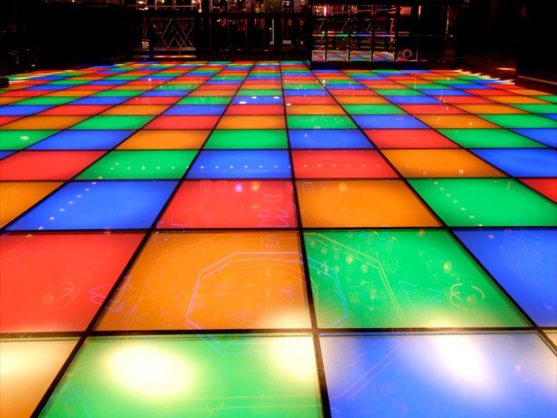 Oceana Dance Floor Brighton UK Network Lighting UK