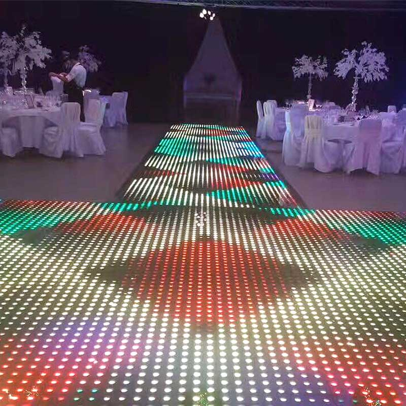 Magnetic LED Dance Floor Network Lighting