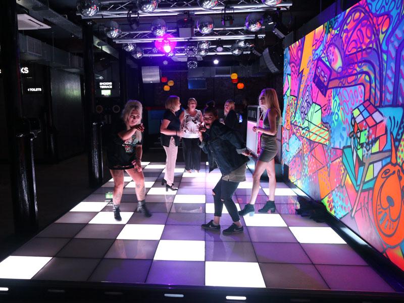 ATIK Hull Dancers Floor Network Lighting UK