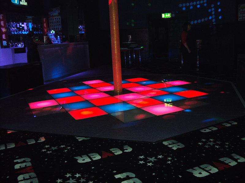 Bar Fever Peterborough Dance Floor Network Lighting UK