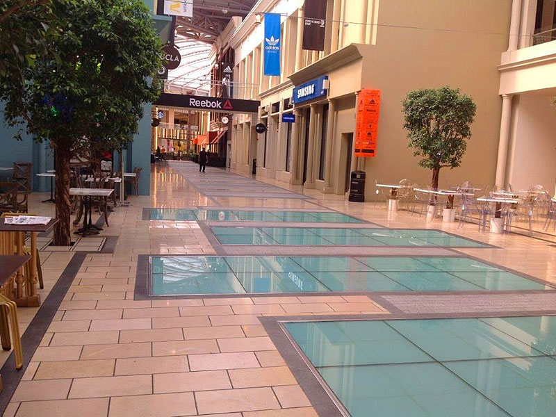 Network Lighting Kuwait Malls