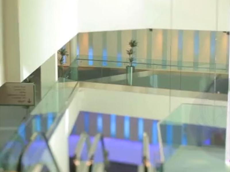 edinburgh conference atrium centre netwwork lighting UK