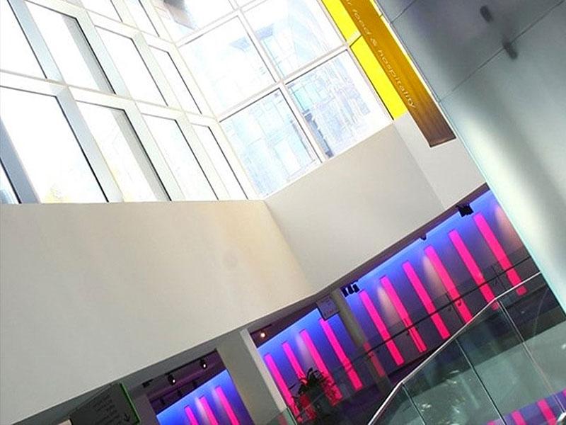 edinburgh conference light-stairs netwwork lighting UK