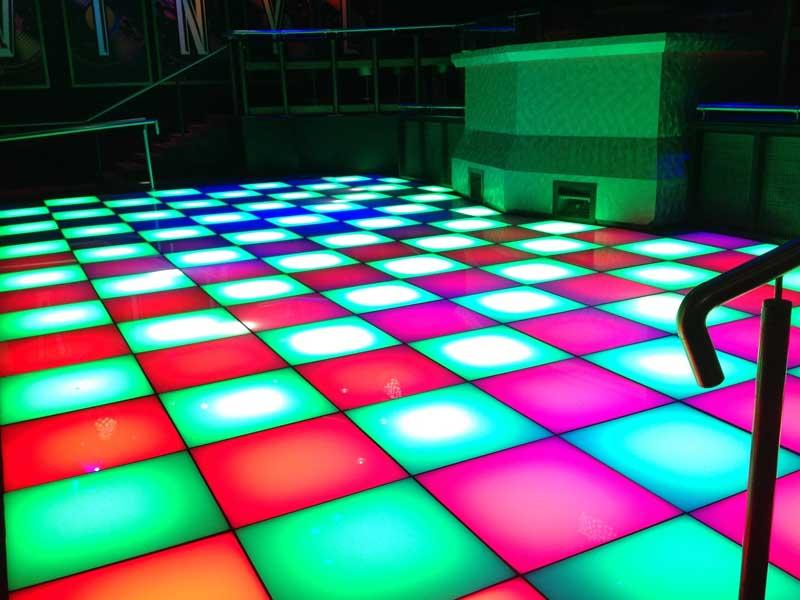 fiction nightclub dance floor swansea network lighting uk