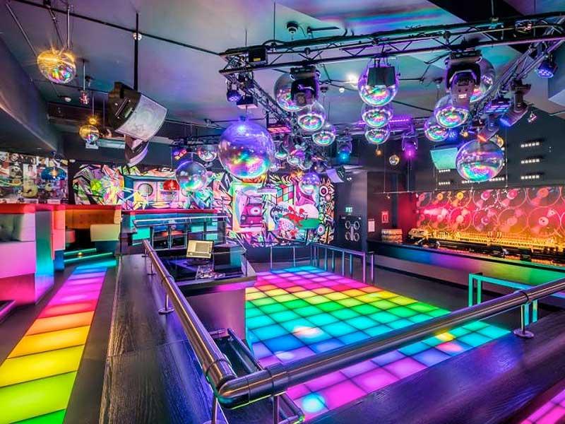 fiction nightclub swansea network lighting uk
